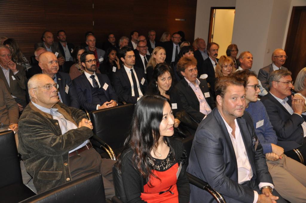 Vorträge und Diskussionsrunden mit SIC-Parner-Unternehmen