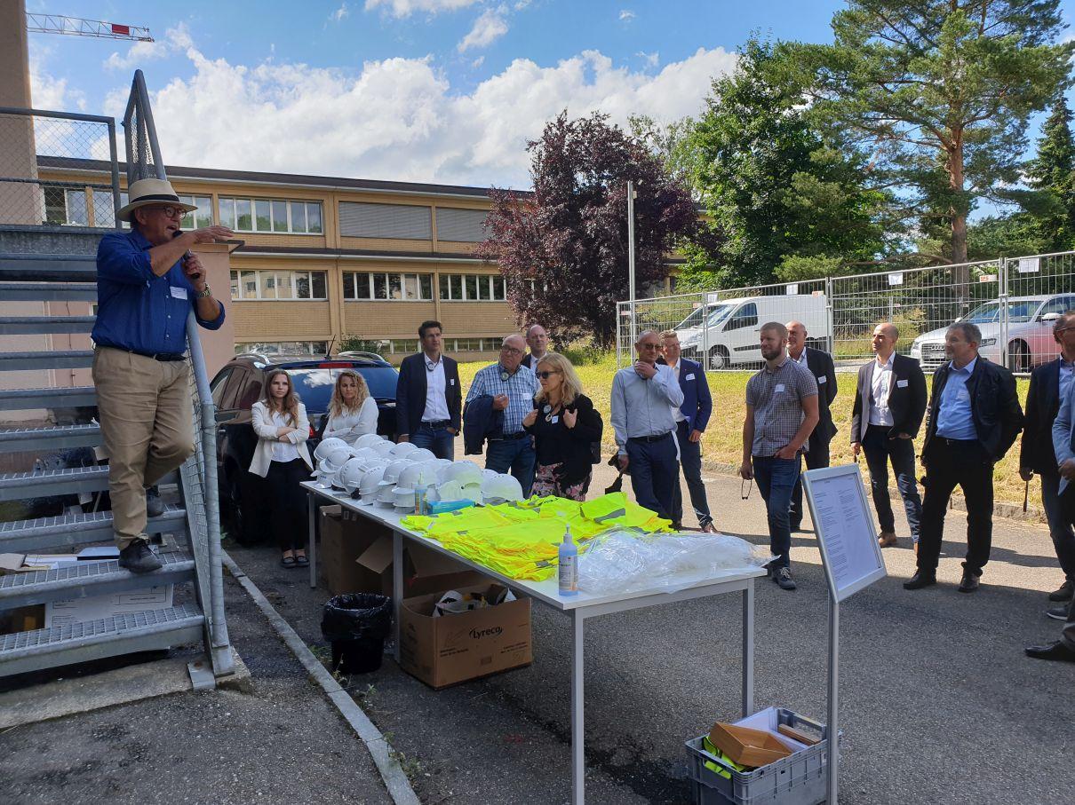 Besuch Bülach Nord, Steiner AG