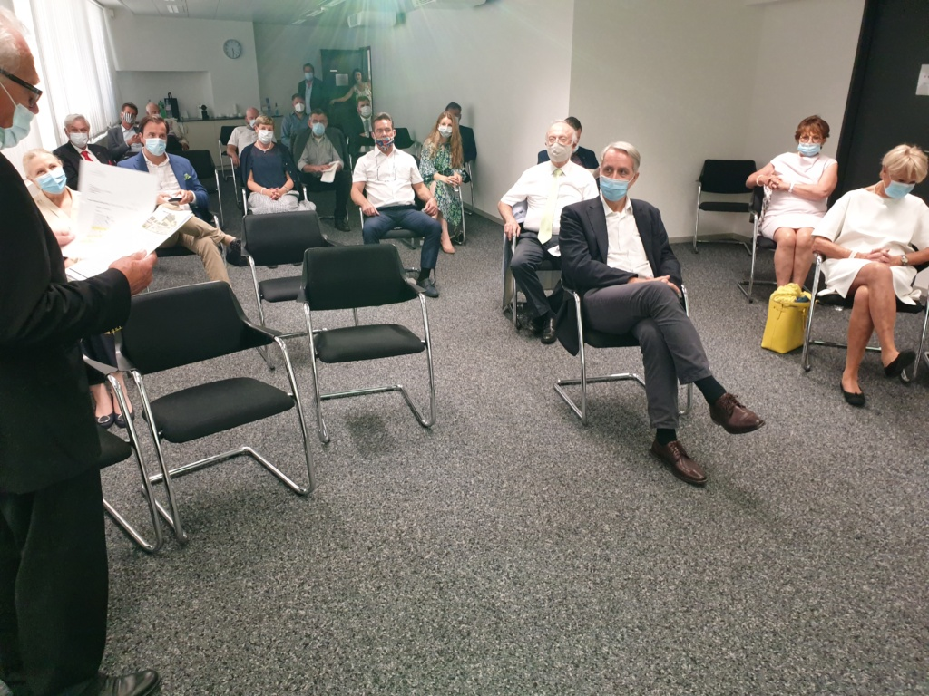 Gäste des SIC verfolgen gespannt den Ausführungen