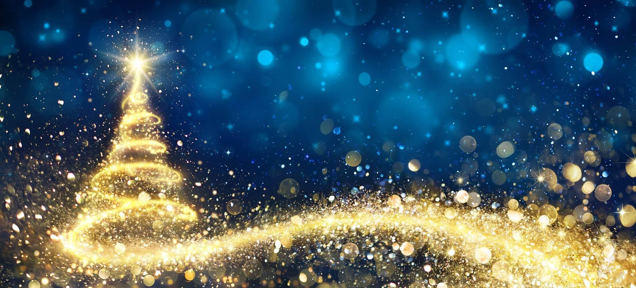 Weihnachtsbaum - Neujahr